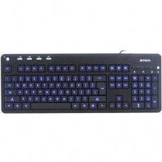 Клавиатура A4Tech KD-126-2 X-Slim LED BlackLight Keyboard USB White