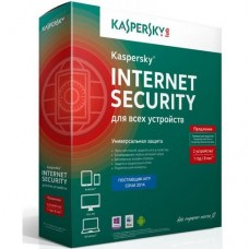 Антивирус Kaspersky Internet Security Multi-Device Russian Edition 2-Desktop 1 year Продление