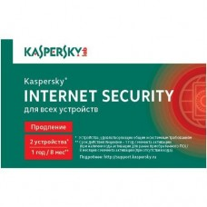 Антивирус Kaspersky Internet Security Multi-Device Russian Edition 2-Desktop 1 year карта продления