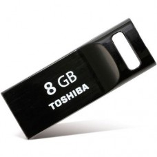 Накопитель Flash Disk 8Gb Toshiba TransMemory mini THNU08SIPBLACK USB 2.0