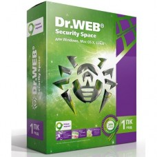 Антивирус Dr.Web для Windows Security Space на 1 год, на 1 ПК