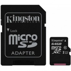 Накопитель Flash Memory Сard micro-SDXC 10 64Gb Kingston