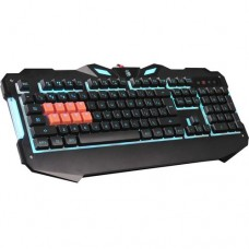 Клавиатура A4 Bloody B328 черный USB Multimedia Gamer LED