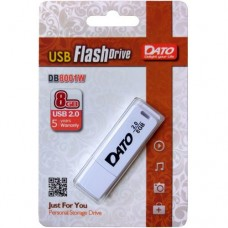 Накопитель Flash Disk 8Gb Dato DB8001 DB8001W-08G USB2.0 белый